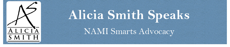 Alicia Smith Speaks NAMI Smarts Advocacy